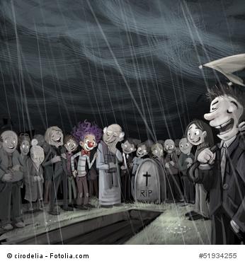 Beerdigungen sind bunter