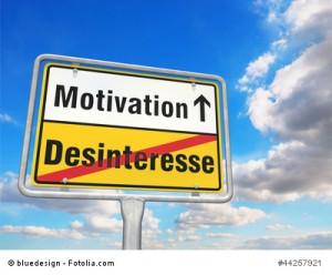 Motivation statt Desinteresse
