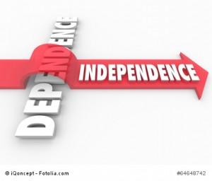 Indepedence Arrow Over Dependent Self-Reliance Determination