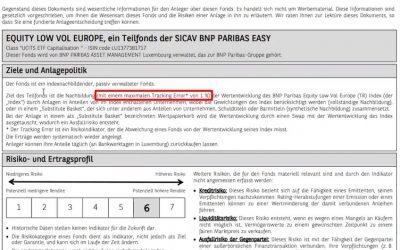 Woher weiß ich ob mein ETF ein SWAP ist oder nicht?
